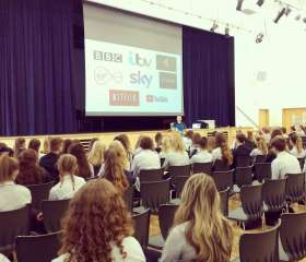 Inspiring year 10s from QE school