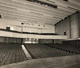 The Concert Hall with seats