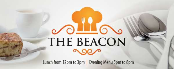 The Beacon has a brand new menu with meals starting from just £5.